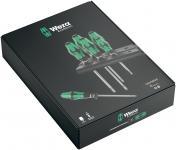 WERA 334/355/6 Rack Schraubendrehersatz Kraftform Plus Lasertip + Rack