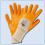 SCHWAN Modell Premium 4, Kat. 2, NBR-Beschichtung orange