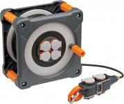 BRENNENSTUHL professionalLINE Kabeltrommel mit Powerblock IP44 33+5m H07RN-F 3G1,5